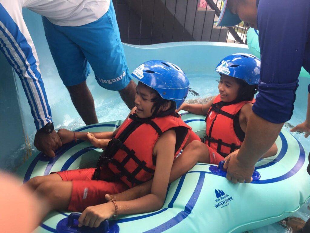 Fun at Black Mountain Water Park