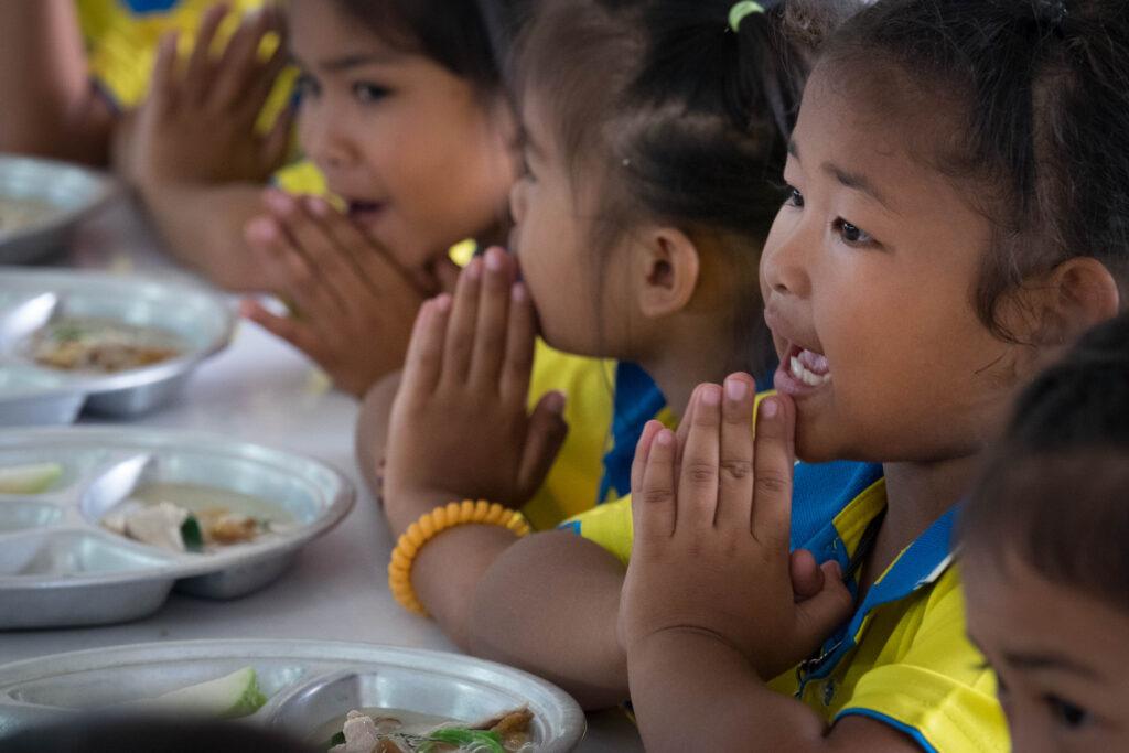 Prayers before Food