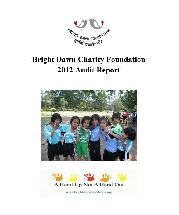 Audit Report 2012