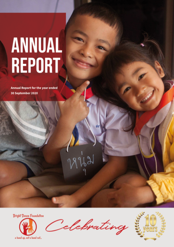 Bright Dawn Foundation Annual Report 2020